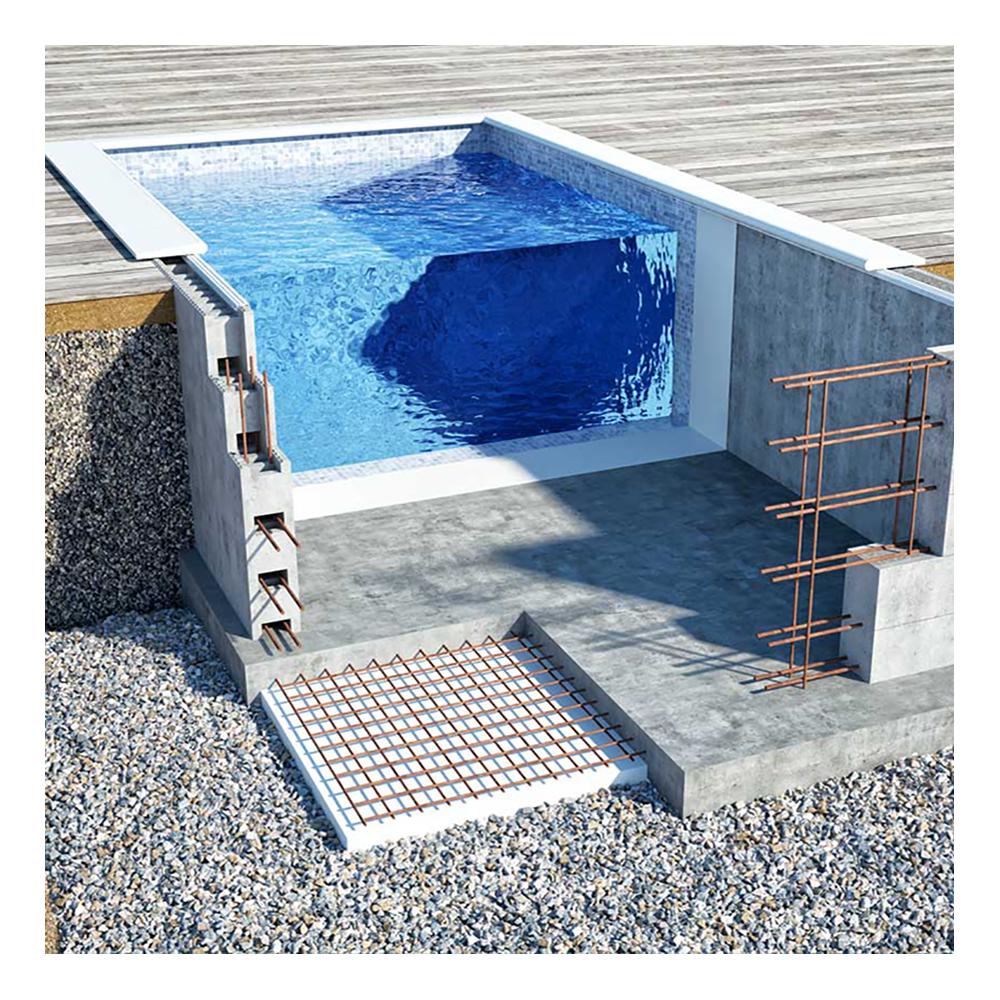 Om Isopool - Haddock Pool & Relax : bygga pool själv : Inredning